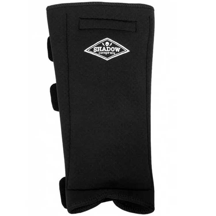 Shadow Invisa-Lite Shin Guards Black MD