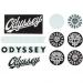 Odyssey assorted sticker pack