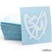 S&M Sharpie Shield die-cut sticker
