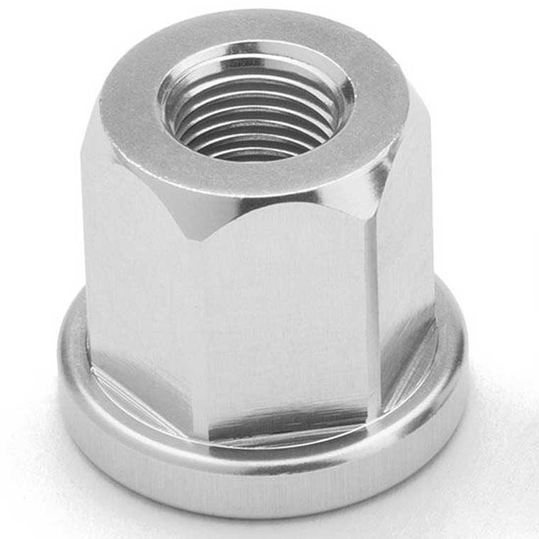 Mission Components alloy axle nut