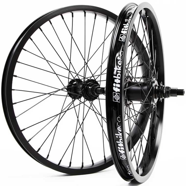 """Fit Bikes freecoaster 18"""" wheelset"""
