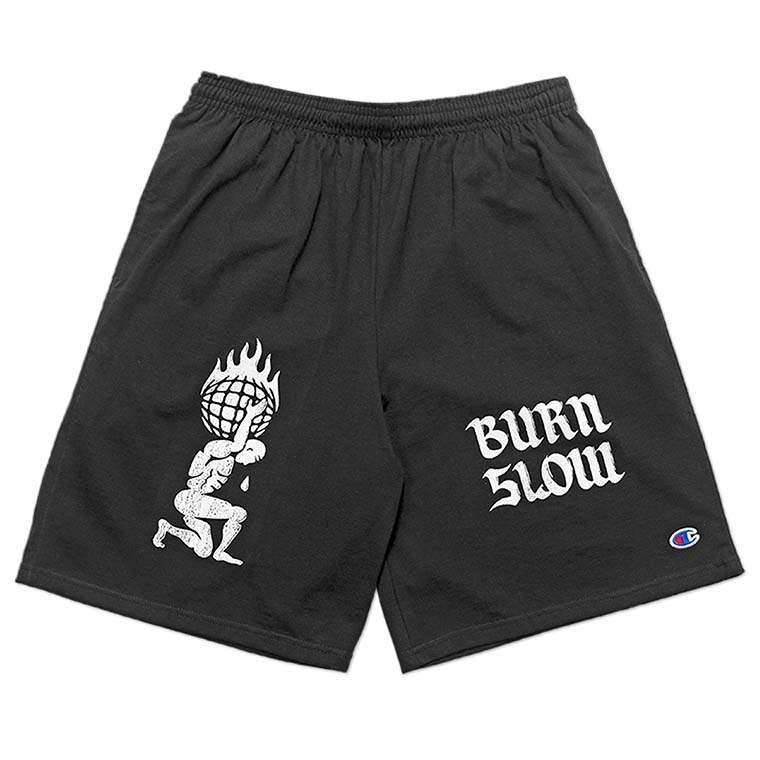 Burn Slow Entertainment Butterfly cotton shorts