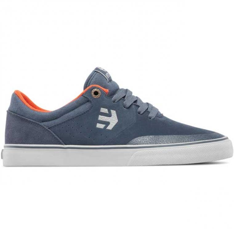 Etnies Marana Vulc shoes - grey / orange (Aaron Ross)