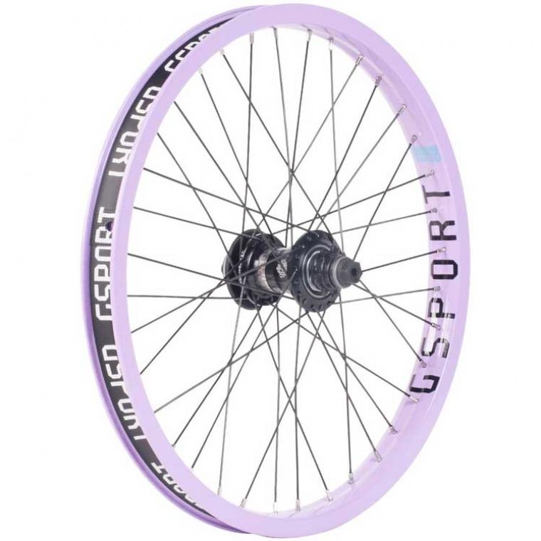 Gsport Elite FC lavender rear wheel