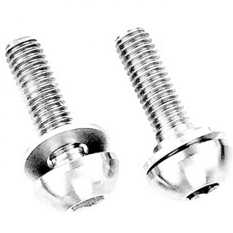 Profile Titanium Button axle bolt