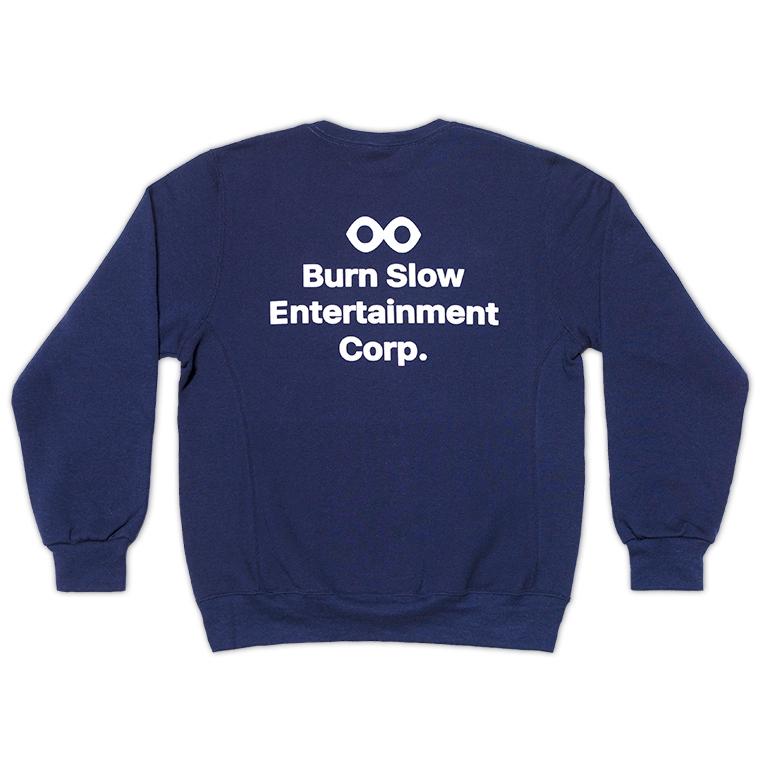 Burn Slow Entertainment crew sweatshirt - Corporate