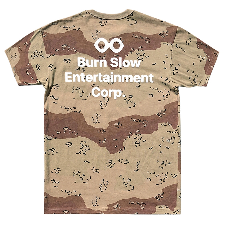 Burn Slow Entertainment t-shirt - Corporate
