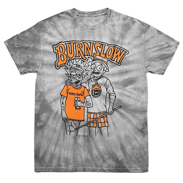 Burn Slow Entertainment t-shirt - Be Happy