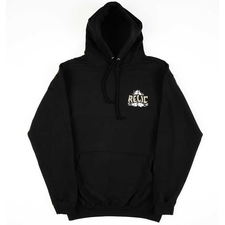 Relic pullover hoodie - Stoned