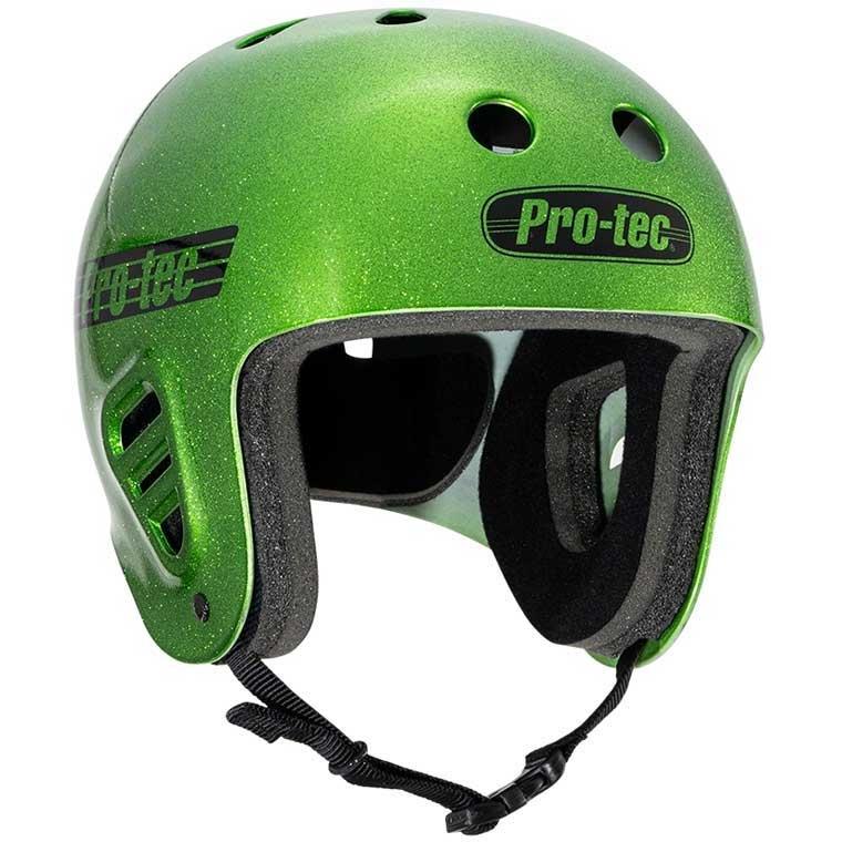 Pro-Tec Full Cut helmet - green flake