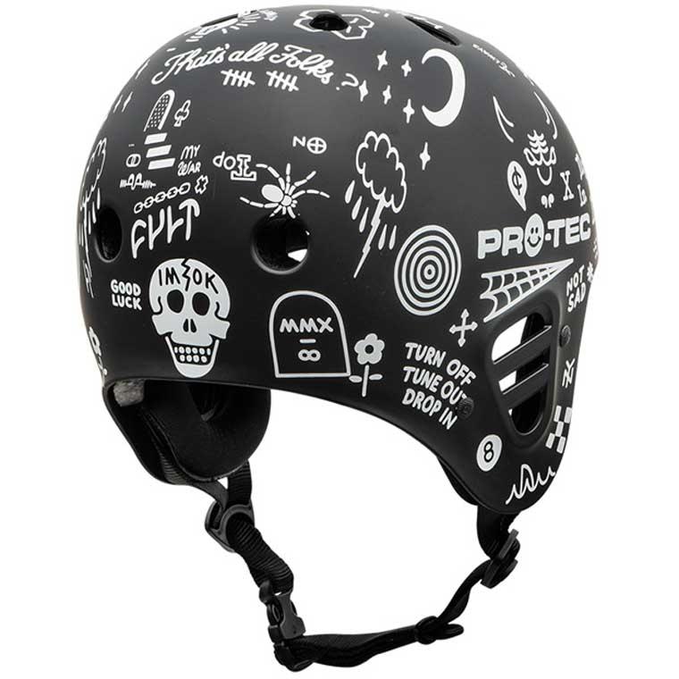 Pro-Tec x Cult Full Cut CPSC helmet
