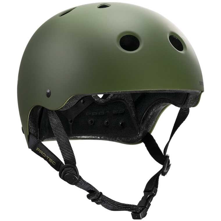 Pro-Tec Classic CPSC helmet - matte olive green