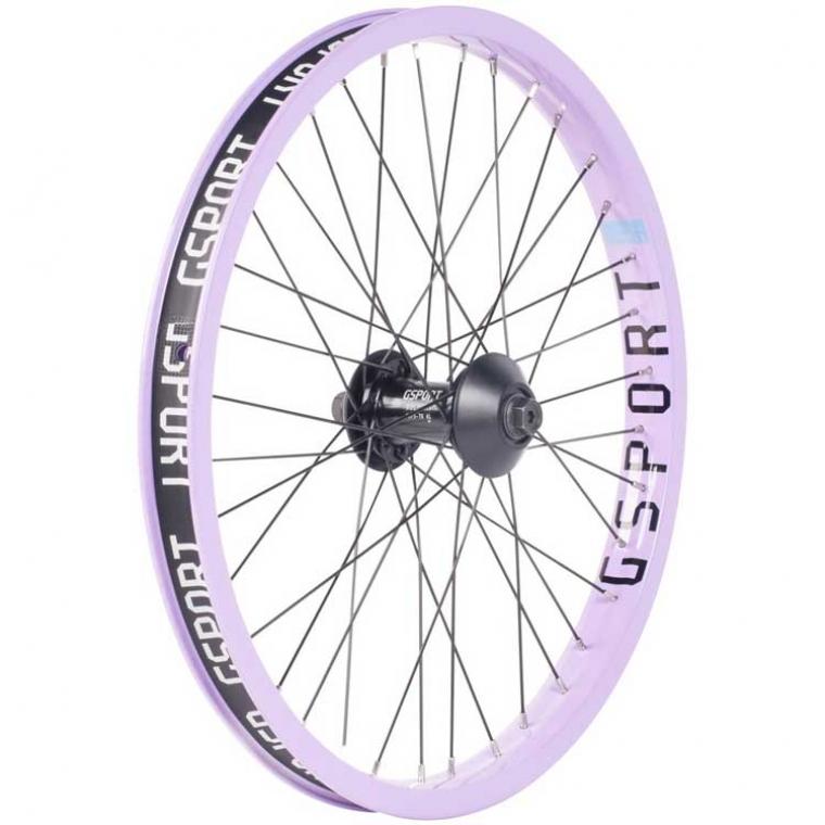 Gsport Elite lavender front wheel
