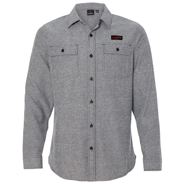 Empire BMX flannel - heather gray