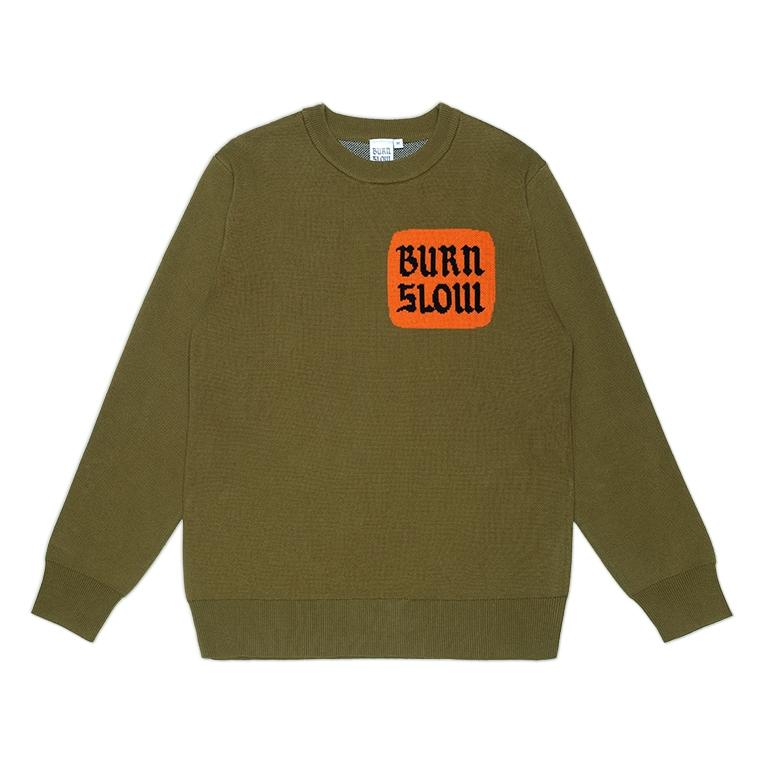 Burn Slow Entertainment Corporate knit sweater