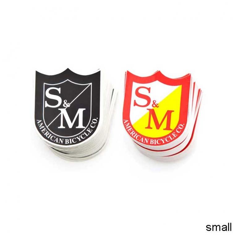 S&M Shield sticker