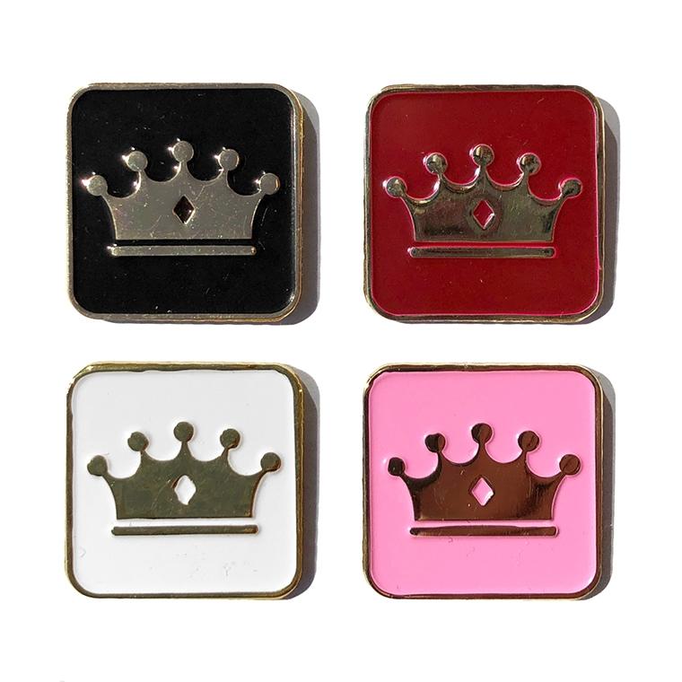 Empire BMX Crown enamel pin