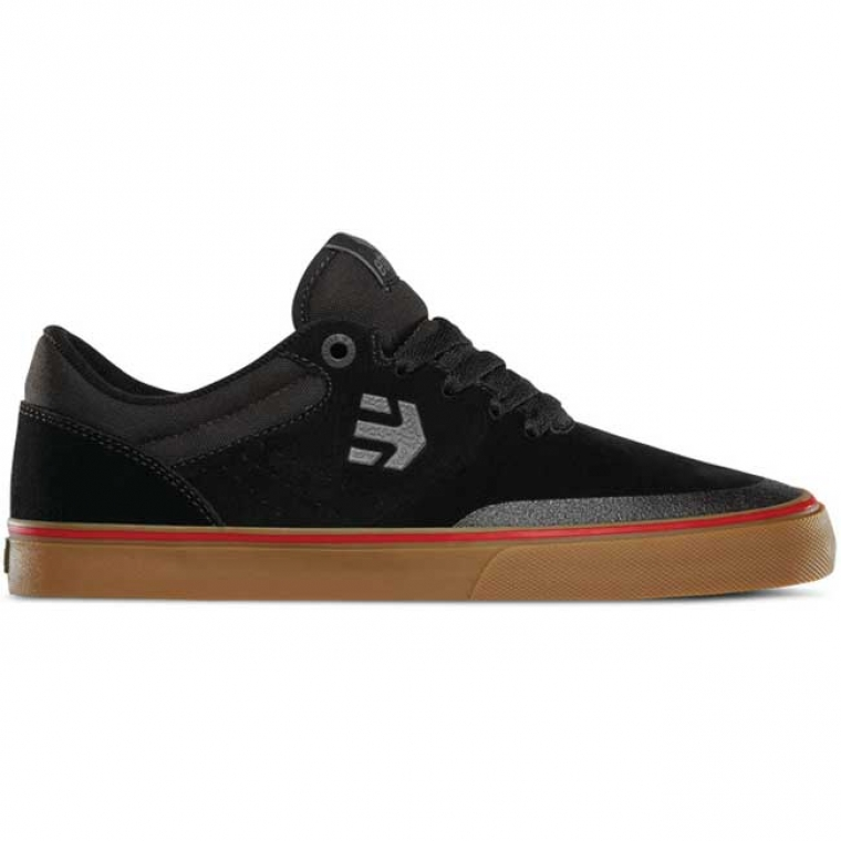 Etnies Marana Vulc shoes - black / gum / gray (Aaron Ross)