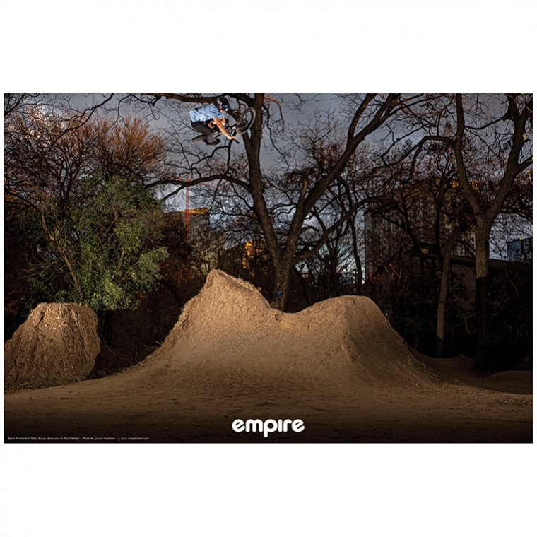 Empire BMX poster - Chase Hawk