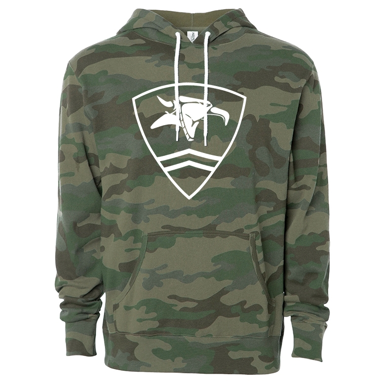 Animal pullover hooded sweatshirt - Rambo