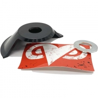 Daily Grind BMX drive-side hubguard