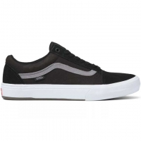 Vans Old Skool Pro shoes - Dakota Roche teak / black
