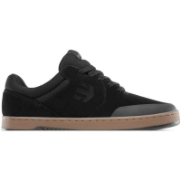 Etnies Barge LS shoes - black / dk gray / red