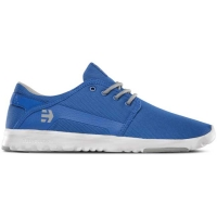 Etnies Scout shoes - blue / gray / white (Aaron Ross)