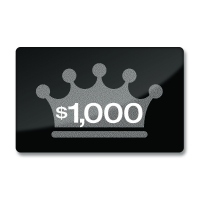Gift Card $1,000 USD