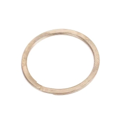 Profile Z-Coaster spiral retaining ring