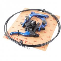 Odyssey EVO 2.5 brake kit anodized blue