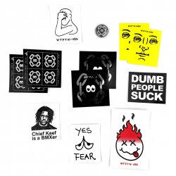 WTFTW.ORG assorted sticker pack