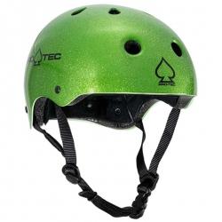Pro-Tec Classic CPSC helmet - green flake