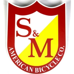 S&M Shield window sticker