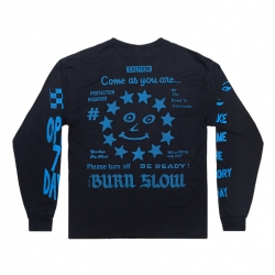 Burn Slow Entertainment longsleeve - Speed Freak