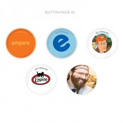 Empire BMX Button pack
