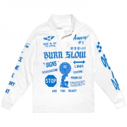 Burn Slow Entertainment L/S polo - Speed Freak