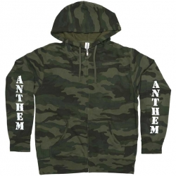 Anthem hooded sweatshirt - forest camo