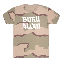 Burn Slow Entertainment t-shirt - Brush