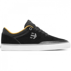 Etnies Marana Vulc shoes - black / yellow / grey