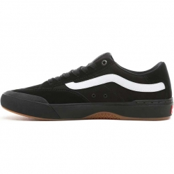 Vans Berle Pro shoes - black / black / white
