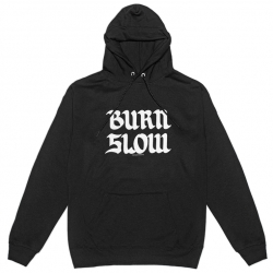 Burn Slow Entertainment hooded sweatshirt - Brush