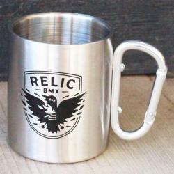 Relic Crow carabiner mug