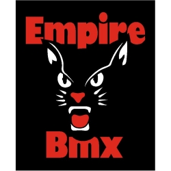 Empire BMX Black Cat sticker