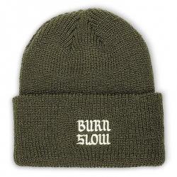 Burn Slow Entertainment Patch beanie