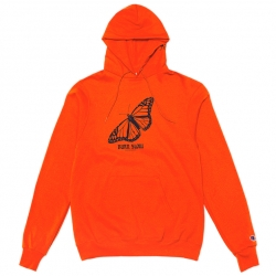 Burn Slow Entertainment hooded sweatshirt - Butterfly