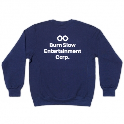 Burn Slow Entertainment crew sweatshirt - Corporate