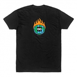Burn Slow Entertainment t-shirt - Globe