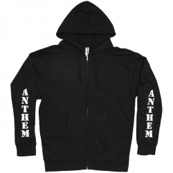 Anthem hooded sweatshirt - black