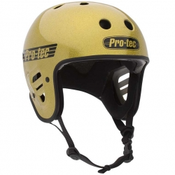 Pro-Tec Full Cut CPSC helmet - gold flake